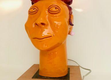 Desk lamps - ILLUMINATED HEADS - FREAKLAB