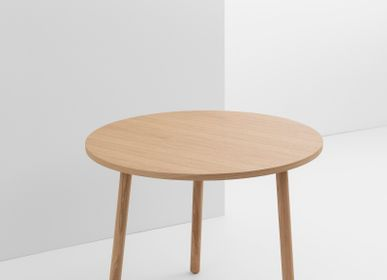 Other tables -  PADDLE-Table-Round-Natural Oak-90cm  - CRUSO