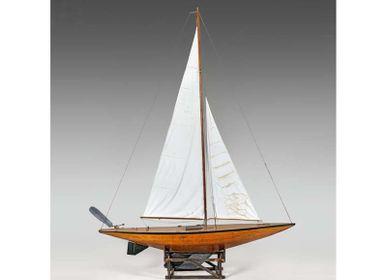 Decorative objects - Pond Boat Model - JD PRODUCTION - JD CO MARINE