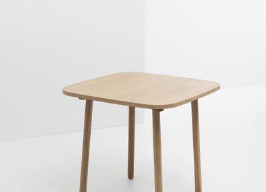Autres tables  - Table Haute PADDLE Carrée Chêne - CRUSO