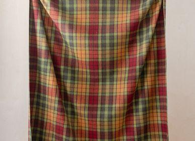 Plaids - Couverture en laine recyclée en Buchanan Autumn Tartan - THE TARTAN BLANKET CO.