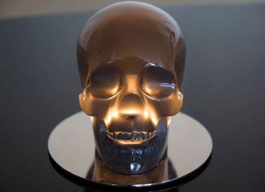 Desk lamps - Vintage Cranium Lamp - VALLVÉ