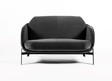 Sofas for hospitalities & contracts - HYPANIS 2-seater sofa - DESIGNERBOX / ORIGINAL EUROPEAN CRAFT PRODUCTS