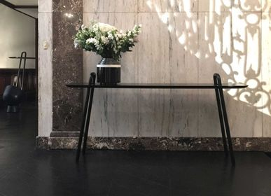 Conference tables - AGRAFE high bar table - DESIGNERBOX / ORIGINAL EUROPEAN CRAFT PRODUCTS