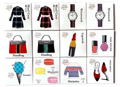 "Gifts - Ladies' Socks Collection ""Plus One"" / SUKENO SOCKS - ABINGPLUS"