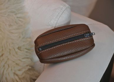 Leather goods - Coffee Bean - LA CARTABLIÈRE