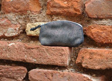 Petite maroquinerie - Mini Trousse à trésors en cuir Pailleté - LA CARTABLIÈRE