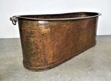 Objets de décoration - Baignoire en cuivre - JD PRODUCTION - JD CO MARINE