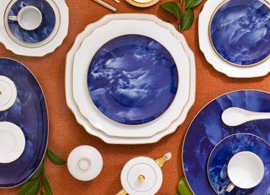 Assiettes de réception - Adamastor assiette en porcelaine - PORCEL