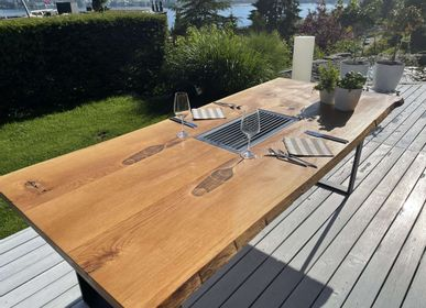 Dining Tables - Grill table with 2 inserts - A LA CARTE DESIGN