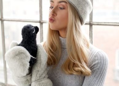Apparel - Woolen Mittens - SHEEP BY THE SEA