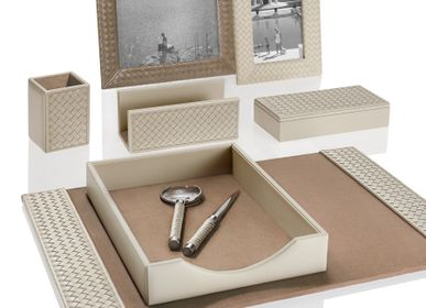 Sets de bureaux - RIVIERE Luxury office accessories and table lamps - RIVIERE