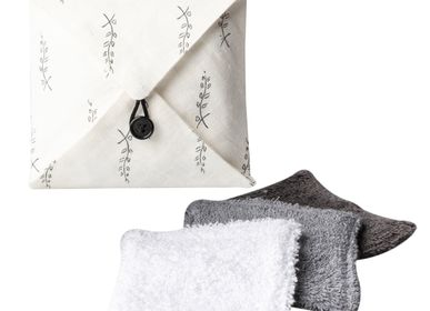 Gifts - Travel pouch with 4 washable pads, Zéro Waste - ATELIER CATHERINE MASSON
