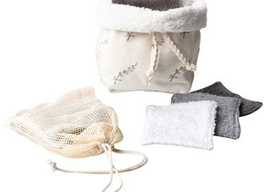 Gifts - Pouch with 5 washable pads - ATELIER CATHERINE MASSON