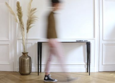 Console table - Hydra Cubic Console - TERRE ET METAL
