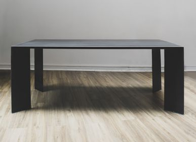 Dining Tables - TABLE DE REPAS MINIMAL BY TM - TERRE ET METAL