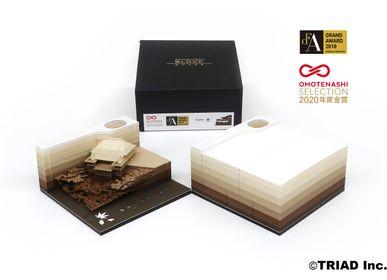 Objets design - SHAPE Kyoto -TSUCHI- - OMOSHIROI BLOCK