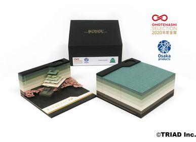 Design objects - SHAPE Osaka Castle - OMOSHIROI BLOCK