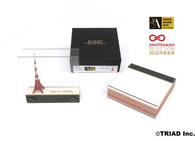 Objets design - SHAPE Tokyo Tower - OMOSHIROI BLOCK