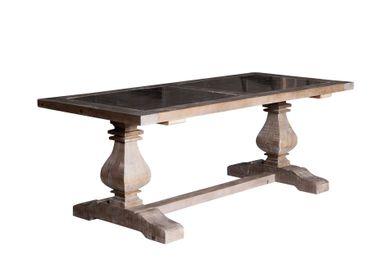 Dining Tables - MANHATTAN TABLE 2 STONES - BECARA