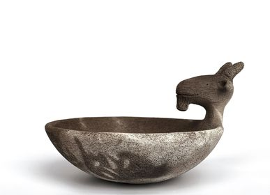 Ceramic - Smoke fired plates - CIRCATERRA CÉRAMIQUE