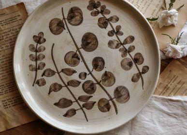 Tea and coffee accessories - { Botanical } by Francisco Segarra | Plates - NOSSE CERAMIC STUDIO