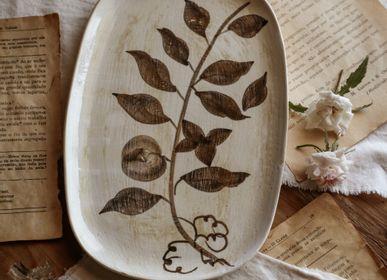 Plats et saladiers - { Botanical } par Francisco Segarra | Plats - NOSSE CERAMIC STUDIO