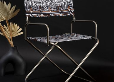 Lawn armchairs - LABYRINTHE Director Chair - LAFUMA MOBILIER