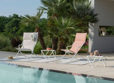 Lawn armchairs - ANCONE Lounger - Privilege - LAFUMA MOBILIER