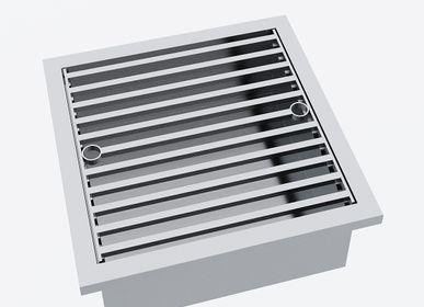 Barbecues - Insert Grill» pour fonctionnement électrique pour table barbecue design «à la carte» - A LA CARTE DESIGN