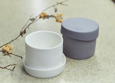 Tea and coffee accessories - Ripple Teacup with Lid - 3,CO