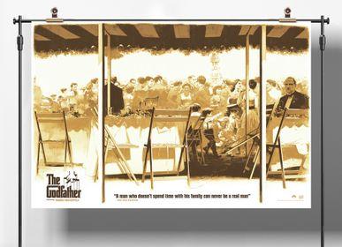 Poster - POSTER LE PARRAIN - PLAKAT - DESIGNING MOVIE POSTERS -