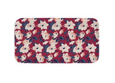 Trays - Rectangular birch trays Birds muses - ATOMIC SODA