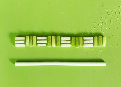 Épicerie fine - Pailles comestibles, compostables et biodégradables saveur Pomme verte  - SWITCH EAT