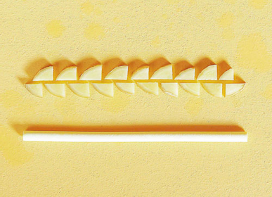 Delicatessen - Edible Straws, Compostable and Biodegradable Ginger Flavor - SWITCH EAT