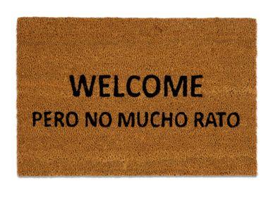 "Rugs - ""WELCOME PERO NO MUCHO RATO"" DOORMAT 40X60 CM AX71030 - ANDREA HOUSE"