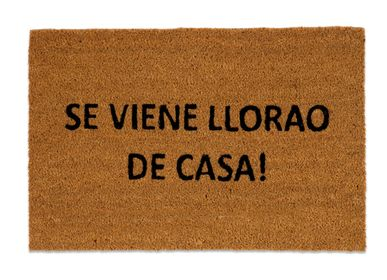 """Rugs - """"SE VIENE LLORAO DE CASA"""" DOORMAT 40X60 CM AX71031 - ANDREA HOUSE"""