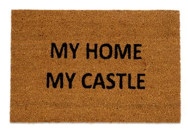 """Rugs - """"MY HOME MY CASTLE"""" DOORMAT 40X60 CM AX71032 - ANDREA HOUSE"""