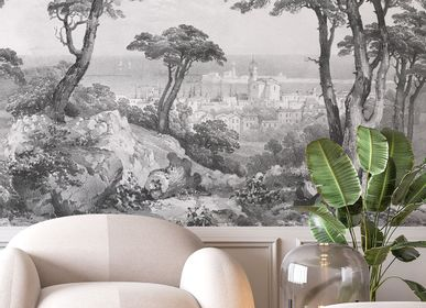 Other wall decoration - Wallpanel Saint-Tropez Grisaille - PAPERMINT