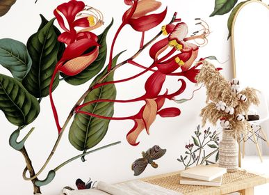 Autres décorations murales - Fresque Printemps Vermillon - PAPERMINT