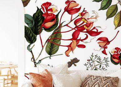 Other wall decoration - Wallpanel Printemps Vermillon - PAPERMINT