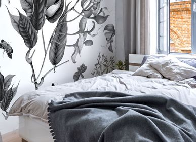 Other wall decoration - Wallpanel Printemps Graphite - PAPERMINT