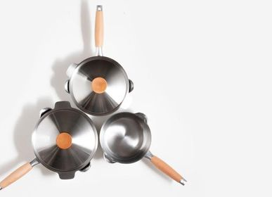 Gifts - Stainless steel Saucepan with double spouts / YOSHIKAWA - ABINGPLUS
