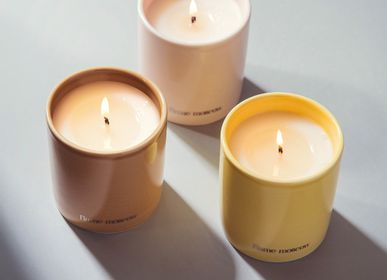 Stationery - Porcelain Candle 250 gr - Gelati - pastel colours and crisp scents - FLAME MOSCOW