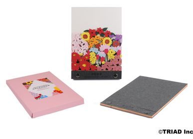 Design objects - OMOSHIROI CALENDAR MONTHLY 2022 Seasonal Flower - OMOSHIROI BLOCK