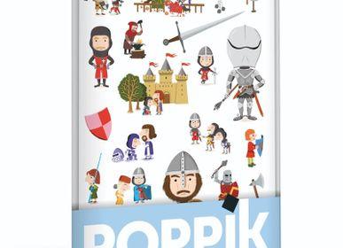 Poster - Mini Poster + 24 stickers CHEVALIERS  - POPPIK