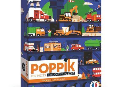 Affiches - Puzzle 280 pièces - Véhicules  - POPPIK