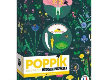 Affiches - Puzzle 1000 pièces - BOTANIQUE - POPPIK