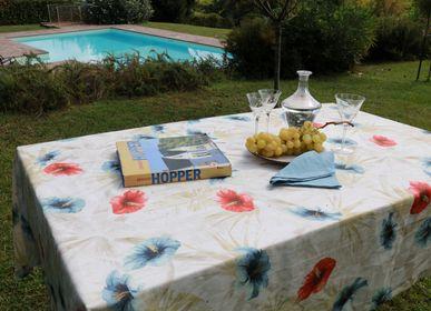 Linge de table textile - NAPPE HIBISCUS - NENCIONI CASA  -  TELENE