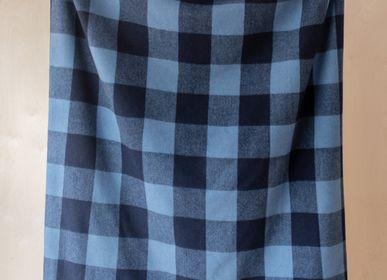 Plaids - Couverture en laine recyclée en Buffalo Check - THE TARTAN BLANKET CO.
